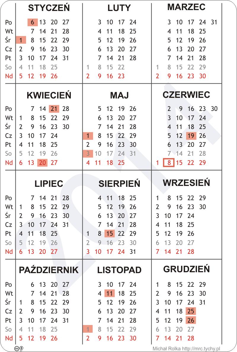 Kalendarz download