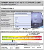 �wiadectwo charakterystyki energetycznej (certyfikat energetyczny) budynku. Tychy, Sosnowiec, Katowice, Mys�owice, Jaworzno, �l�skie, GOP, Zag��bie, GZM.